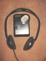 SONY SRF-36 FM Walkman Radio with KOSS Headphones, Working! - $16.45