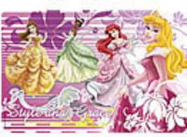 Disney Princess  Plastic Placemat Set Of 4 - $12.95