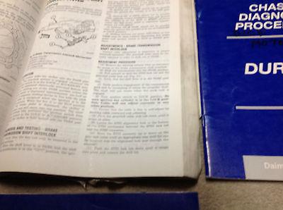 2002 DODGE DURANGO Service Repair Shop Workshop Manual Set W Diagnostics OEM image 4