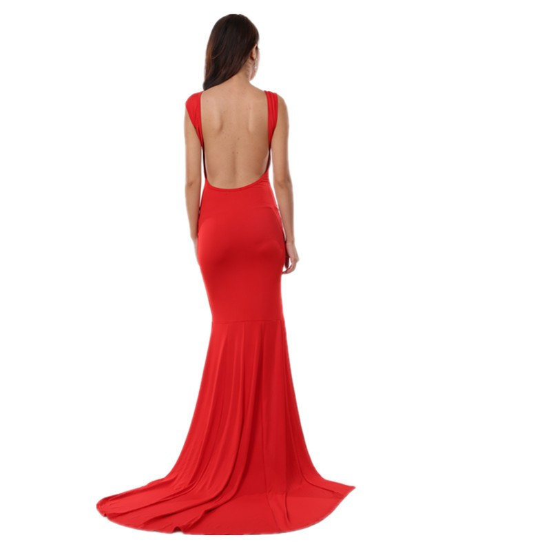Long Mermaid Dress for Cocktail Party at Bling Brides Bouquet - Online bridal  image 3