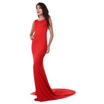 Long Mermaid Dress for Cocktail Party at Bling Brides Bouquet - Online bridal  image 4