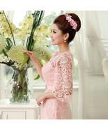 Lace and Chiffon Bridesmaid Dresses at Bling Brides Bouquet -Online Brid... - $129.99