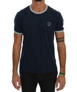 Kenzo Blue Cotton Crewneck T-Shirt - $86.58