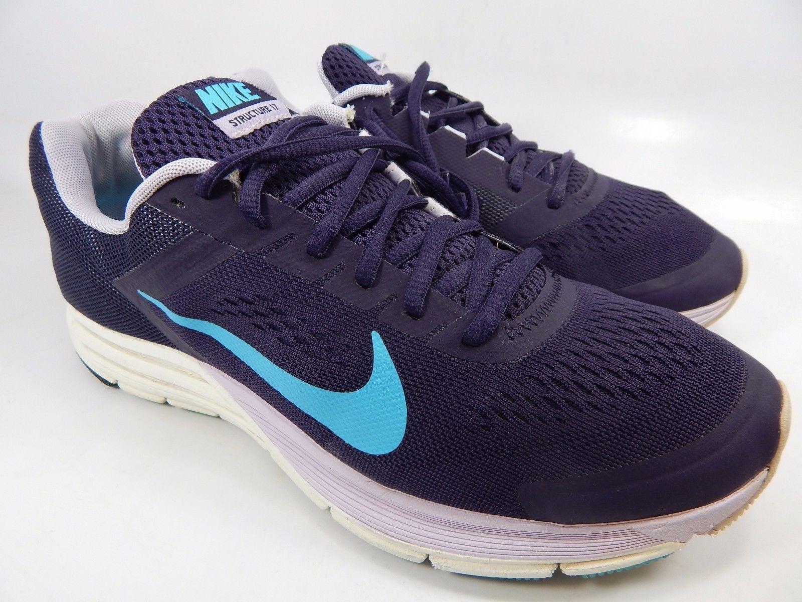 Nike Zoom Structure+ 17  Women's Running Shoes Size US 10 M (B) EU 42 615588-545