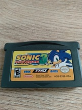 Nintendo Game Boy Advance GBA Sonic Advance 3 image 2