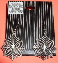 Nightmare Before Christmas Spider Web earrings - $19.14