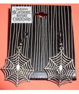 Nightmare Before Christmas Spider Web earrings - $19.14