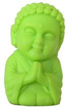 Pocket Buddha Faith Green Buddhism Figurine Toy - $4.99