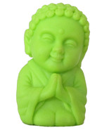 Pocket Buddha Faith Green Buddhism Figurine Toy - $4.99