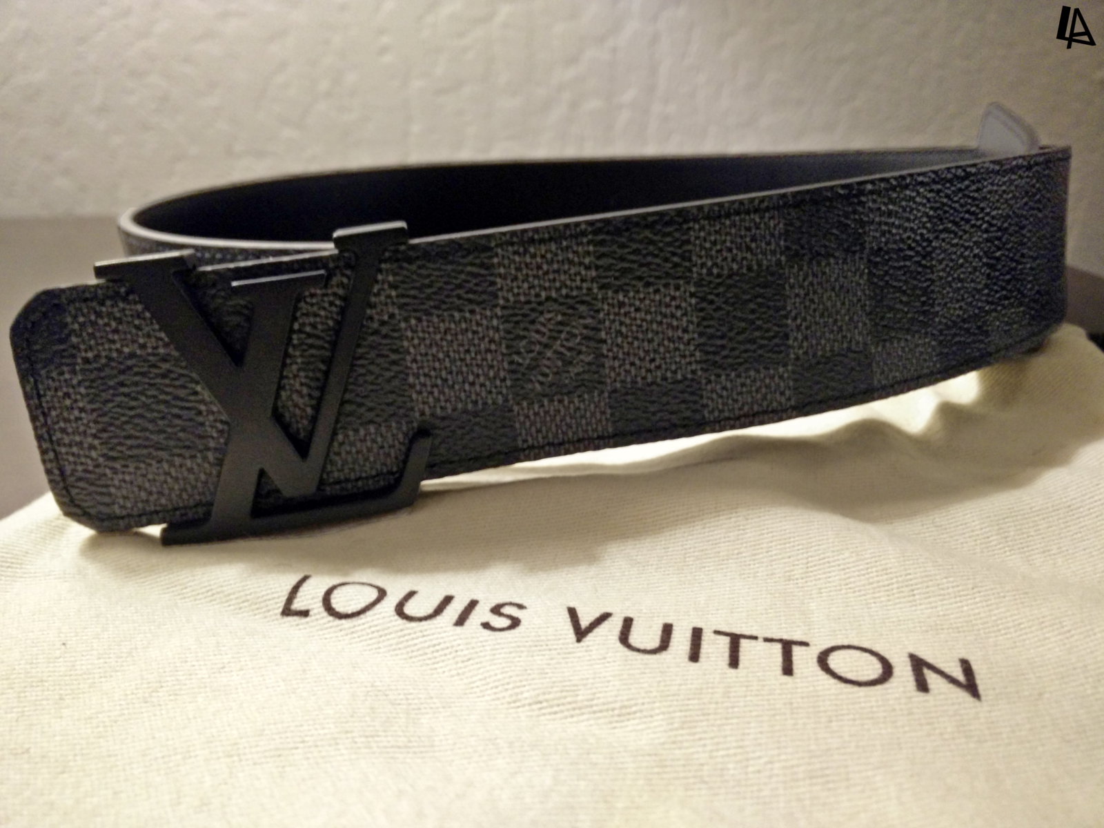 814fd92b4a6a Imgnew 20170217 174738. Imgnew 20170217 174738. Previous. Louis Vuitton  Damier Graphite Belt M9808 Men s ...