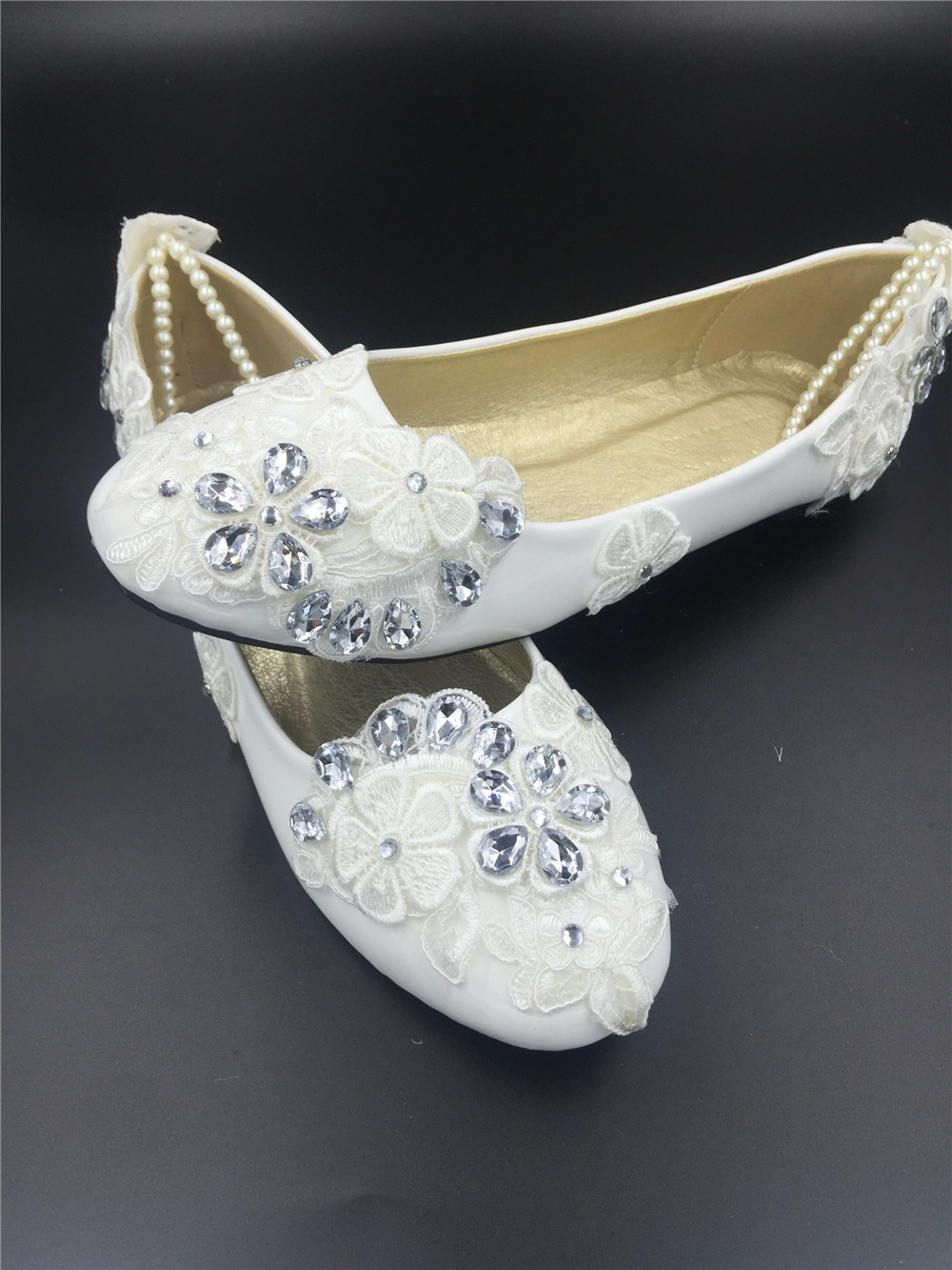 Primary image for Spring Wedding Shoes/Spring Bridal Flats Shoes/Bride Shoes/Bridesmaids Shoes