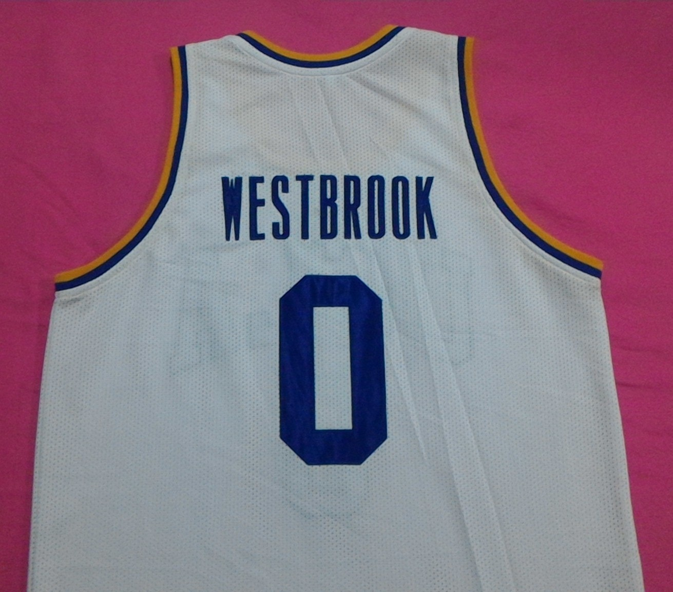 best website c15a7 39826 Russell Westbrook Ucla Bruins White College and 50 similar items