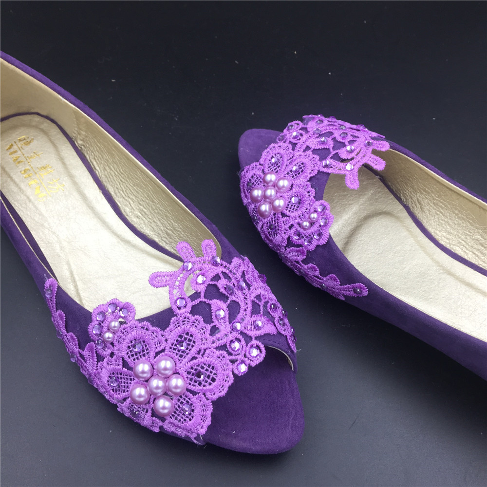 Purple, Wedding Shoes Photos in All Areas. Photos Albums. Filters. Apply. Clear. Wedding Categories Any. Bar + Drinks Beauty Cakes + Desserts Decorations + Accents Entertainers Purple Peep-Toe Shoes. Purple Bridal Shoes. Purple Bridal Shoes. Lavender Wedding Shoes with Lace Detail. Purple Open-Toe Shoes With Silver Brooches.