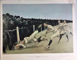 Touchdown by Frederic Remington - $65.00