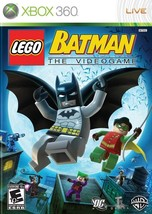 Lego Batman The Videogame Xbox 360 Great Condition Complete Fast Shipping - $12.93