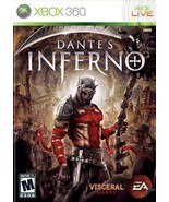 Dante's Inferno Xbox 360 Great Condition Fast Shipping - $8.94
