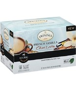 Twinings Of London French Vanilla Tea Chai Latt... - $16.78