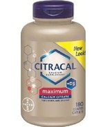 Citracal Calcium + D3 Maximum Strength Calcium ... - $16.78