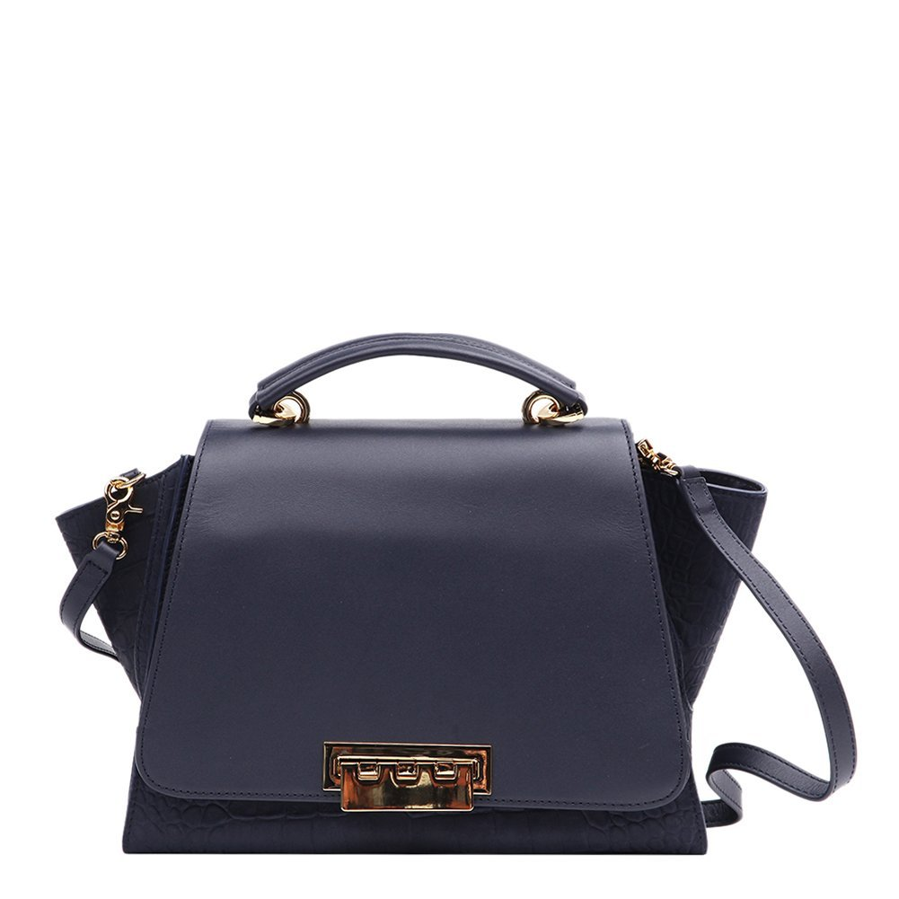 ZAC Zac Posen Eartha Mini Top Handle Bag ZP824-410 Navy