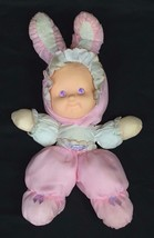 """Fisher Price Puffalump Kids Baby Pink Bunny Easter 14"""" Plush Soft Doll V... - $9.95"""