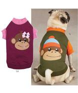 Monkey Business Raglan T-Shirt  Dog  Tee East S... - $12.95 - $14.95
