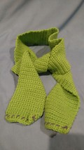 Colorful Green Scarf for Him or Her - $7.95