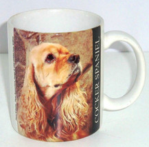 Cocker Spaniel Coffee Mug Dog Tea Soup  - $34.95