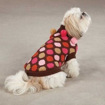 East Side Collection Spirit Polka Dot  Pet Dog Knit Sweater XS S S/M M L XL  Top - $19.50+