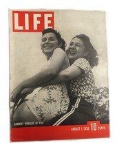 Life Magazine August 1,1938 Garment Workers At Play - $24.74
