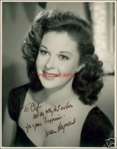 Susan Hayward autograph photo print - $3.85