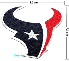 HoustonTexans   Iron On Patch. - $2.00