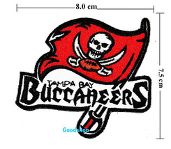 Tampa Bay Buccaneers   Iron On Patch. - $2.00