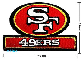 Sanfrancisco 49ers   Iron On Patch. - $2.00