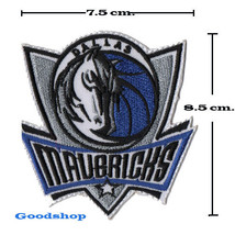 DALLAS MAVERICKS Basketball  Iron On Patch. - $2.00