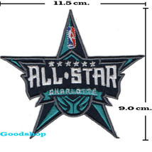 CHARLOTTE HORNETS  iron on patch - $2.00
