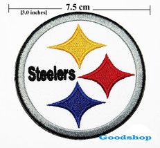 Pittsburgh Steelers   Iron On Patch. - $2.00
