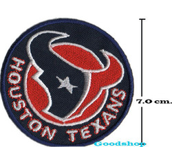 New HoustonTexans   Iron On Patch. - $2.00