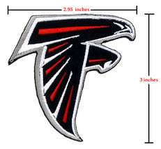 Atlanta Falcons   Iron On Patch. - $2.00
