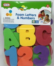 Little Tikes Foam Letters & Numbers BathTime - $9.74