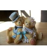 "Cherished Teddies 1992 Robbie and Rachael ""Love Bears All Things"" Figurine.  - $18.00"