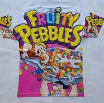 Custom Fruity Pebbles Sublimated Shirt  galaxy legend foamposite - $33.99