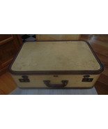 Vintage Mendel Luggage Suitcase Leather Edge No... - $39.59