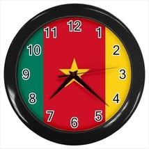 Cameroon Flag Wall Clock - $18.53