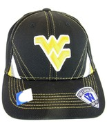 NCAA West Virginia Mountaineers Top of the World Pace Black One-Fit Base... - $11.95