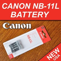 New Battery NB-11L For Canon Powershot Ixus 125 Hs, Ixus 240 Hs, SX400, SX410 - $11.87