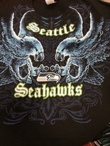 SEATTLE SEAHAWKS New with tags FACE - OFF  T-Shirt BLACK shirt NFL - $24.99