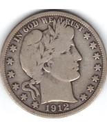 Nice 1912 P Barber Half. - £15.92 GBP