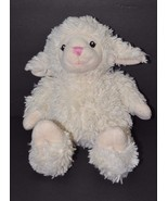 Macy's First Impressions Cream Lamb Plush Stuff... - $16.82