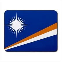 Marshall Islands Flag Mousepad (Neoprene Non-slip Mousemat) - $7.40