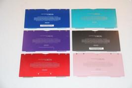 Authentic Nintendo 3DS Replacement Part Back Cover Door & Screw USAVersi... - $5.99